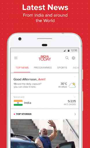 Latest English News & Free Live TV by India Today 1