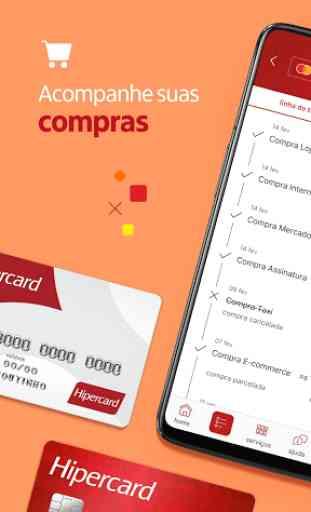 Hipercard Controle seu cartão 1