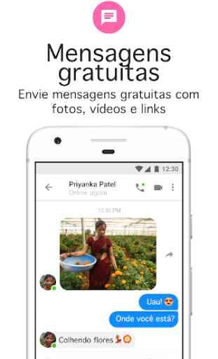 Messenger Lite: ligações e mensagens gratuitas 2
