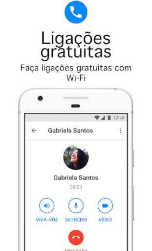 Messenger Lite: ligações e mensagens gratuitas 3