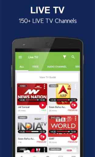 nexGTv Live TV News Cricket 2