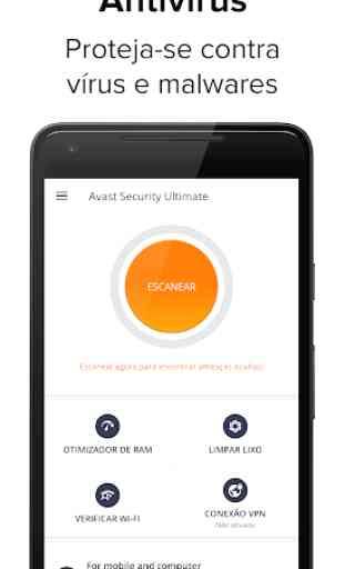 Avast Antivírus 2020 – Limpador de vírus Android 1
