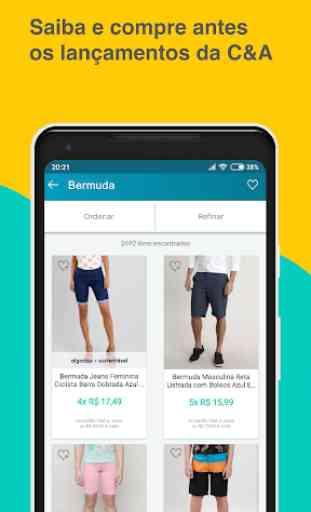 C&A: Comprar online. Loja de Roupas Sapatos e Moda 4