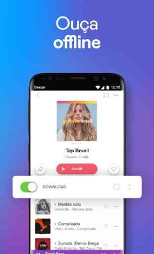 Deezer: Ouvir Música, Playlists e Podcasts Online 3