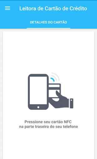 Leitora de cartões NFC EMV 1