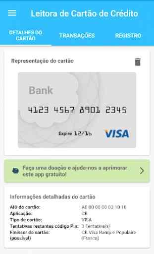 Leitora de cartões NFC EMV 2