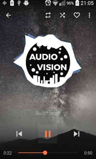 AudioVision Music Player 1