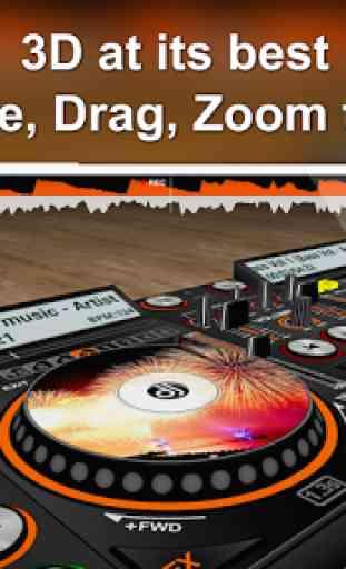 DiscDj 3D Music Player - 3D Dj Music Mixer Studio 1