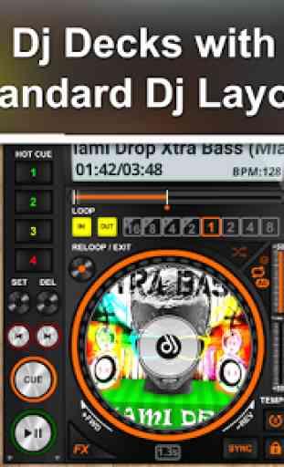 DiscDj 3D Music Player - 3D Dj Music Mixer Studio 4