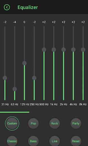 Lark Player Theme - Green 3