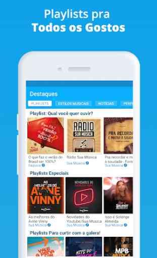 Sua Música: baixar e ouvir online música grátis 3