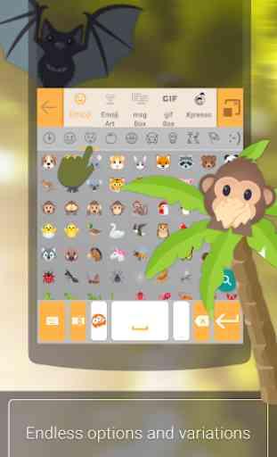 ai. type Emoji Keyboard plugin (Android) image 3