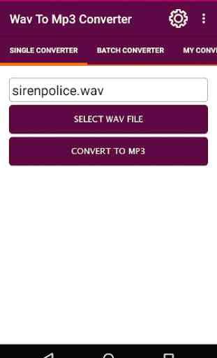 WAV To MP3 Converter 1