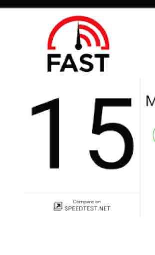 FAST Speed Test 2