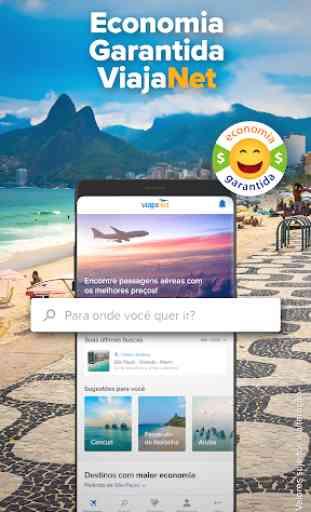 ViajaNet: Passagens aéreas pelos melhores preços 1
