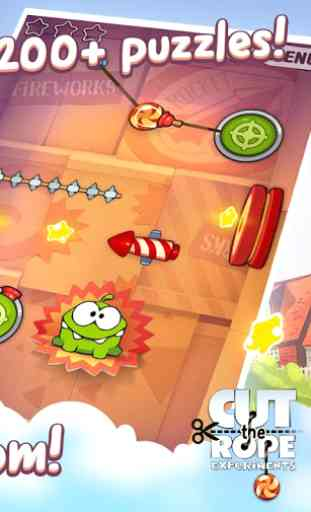 Cut the Rope: Experiments FREE 2
