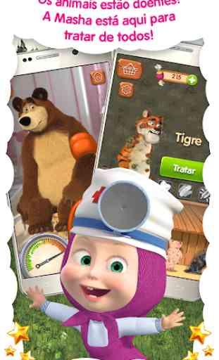 Doctor Masha: jogos de animais 1