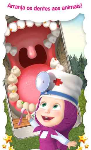 Doctor Masha: jogos de animais 2