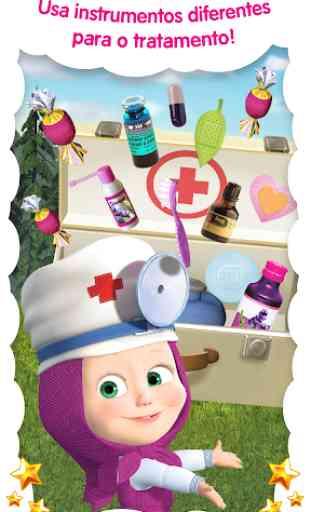 Doctor Masha: jogos de animais 3
