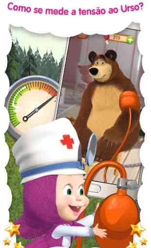 Doctor Masha: jogos de animais 4