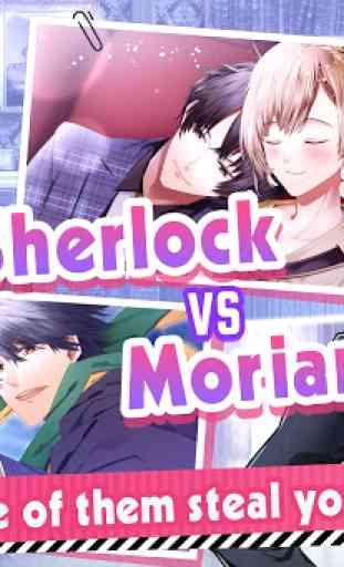 Guard me, Sherlock! - otome game 3
