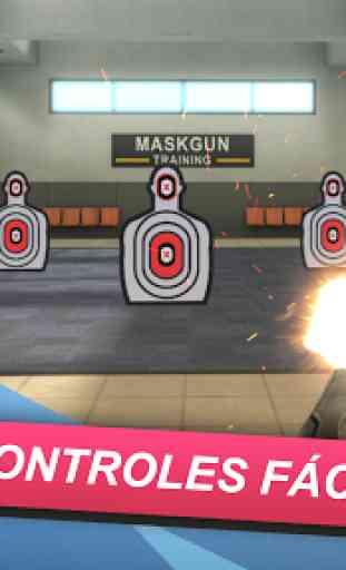 MaskGun FPS Multijogador - Jogo de Tiro Gratuito 1