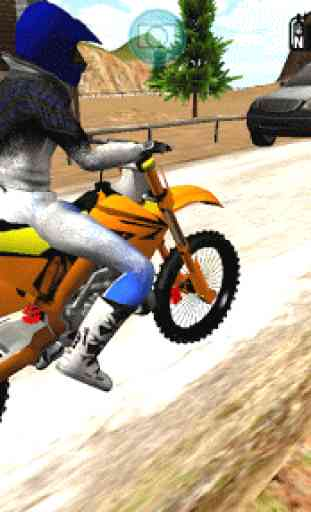 Motocross Countryside Drive 3D 1