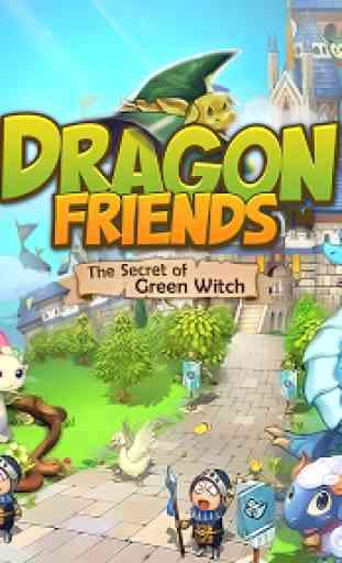 Amigos dos Dragões: BruxaVerde 1
