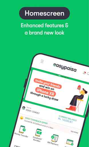 Easypaisa - Mobile Load, Send Money & Pay Bills 1