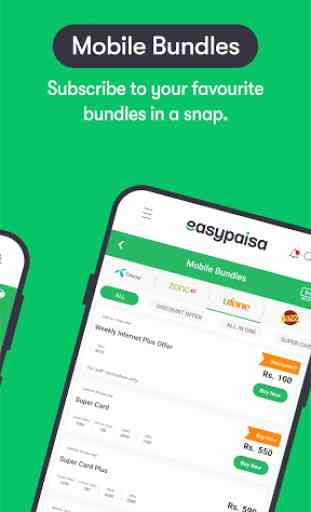 Easypaisa - Mobile Load, Send Money & Pay Bills 3