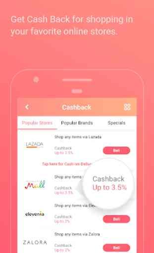 PopSlide: Cashback, Diskon, Pulsa Gratis 2