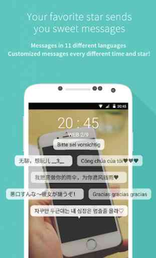 Mydol- Lockscreen, Virtual chat, Chat bot 1