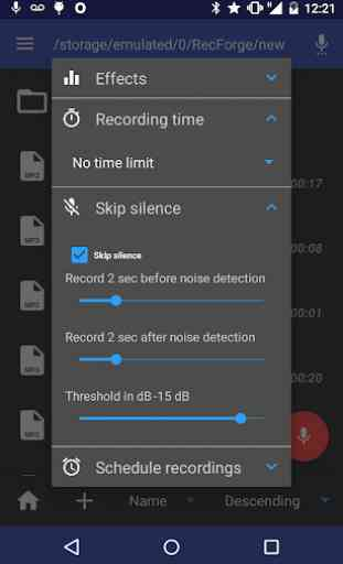 RecForge II - Audio Recorder 3