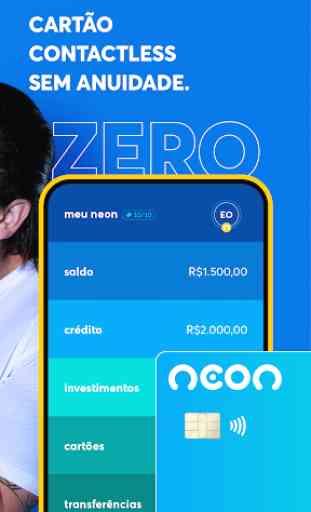 Neon - Conta digital gratuita e cartão de crédito 2