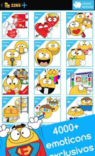 Emojidom emoticons para Facebook e emojis WhatsApp 1
