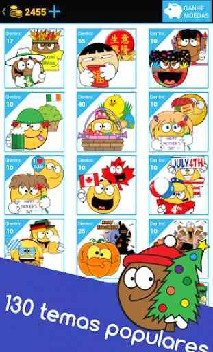 Emojidom emoticons para Facebook e emojis WhatsApp 2