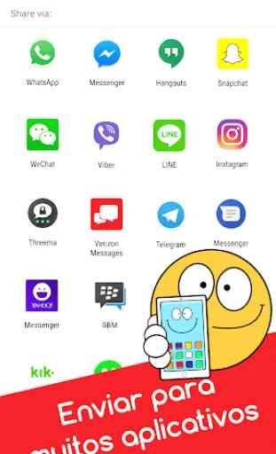 Emojidom emoticons para Facebook e emojis WhatsApp 3