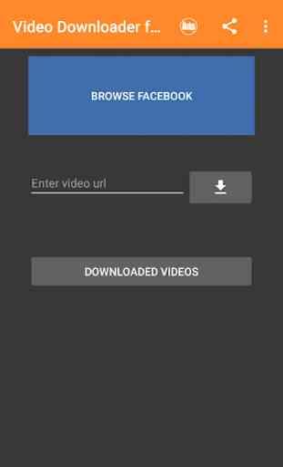 Baixador de Vídeo para Facebook 2
