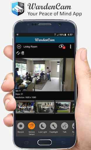 CCTV Câmera IP de vigilância 2