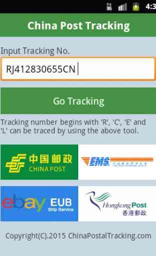 China Post Tracking 1