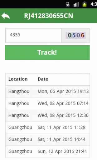 China Post Tracking 2
