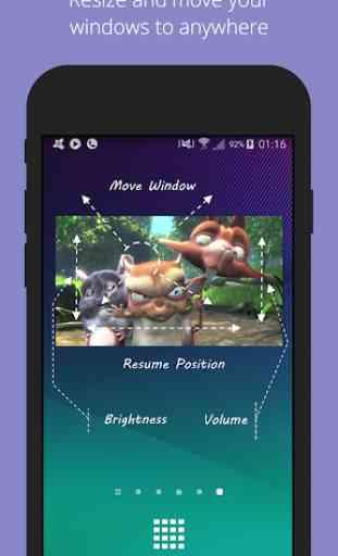 Lua Player - Leitor de vídeo, multiformato e popup 2