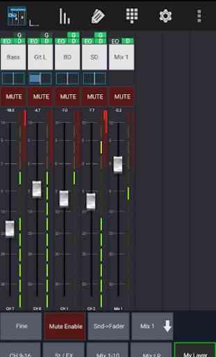 Mixing Station Qu 1