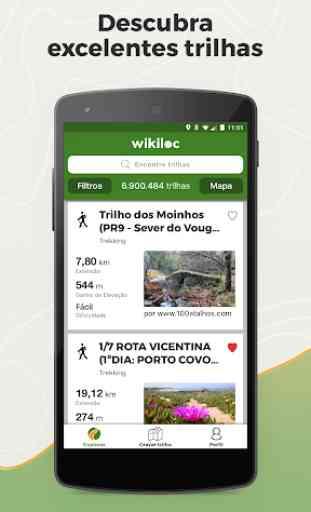 Wikiloc Navegação Outdoor GPS 1