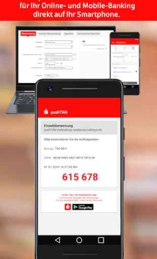 S-pushTAN für Smartphone und Tablet 1