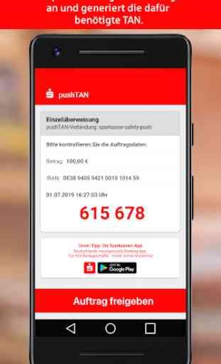 S-pushTAN für Smartphone und Tablet 2