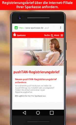 S-pushTAN für Smartphone und Tablet 4