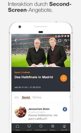 ZDFmediathek & Live TV 2