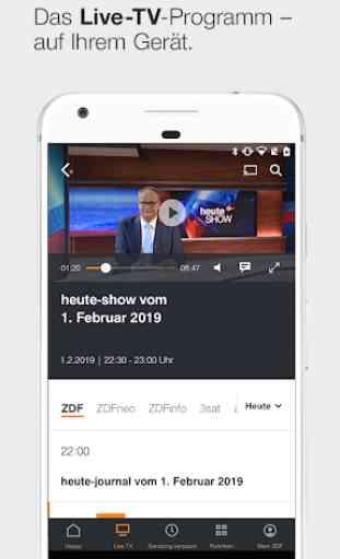 ZDFmediathek & Live TV 3