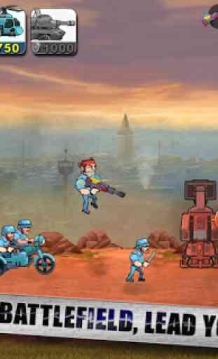 Frontline Soldier - Metal Commander War 1